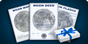 Standard Lunar Land Gift Package